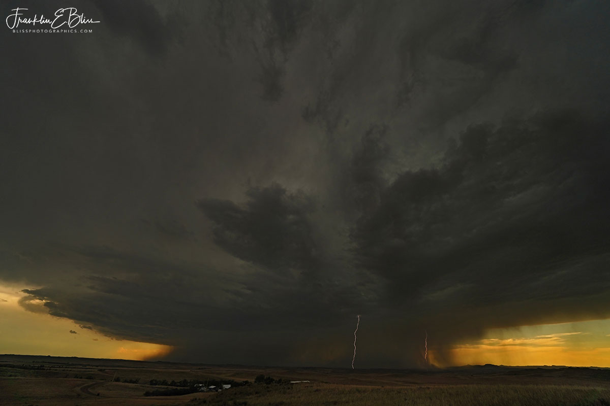 Twin Bolts Massive Mesocyclone