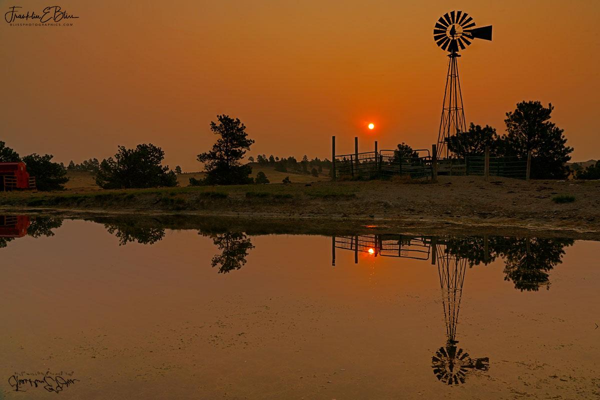 Smokey Windmill Ranch Pond